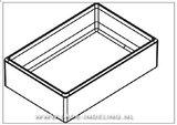 Cubimax 100 mm diep