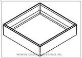 Cubimax 150 mm diep
