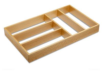 houten indeling lade