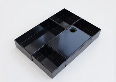 Orgalux Badkamer - Starter, hoogte 75 mm, zwart
