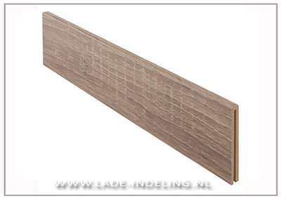 Wood Wilson dwarsverdeling, 100 mm breed, wit